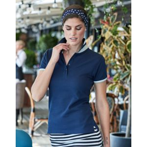 1403 Tee Jays Polo donna club 100% piquet alta qualità regular fit Thumbnail